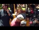 20 мая 2016 г. — Шакира и Карлос Вивес на съёмках клипа «La bicicleta»