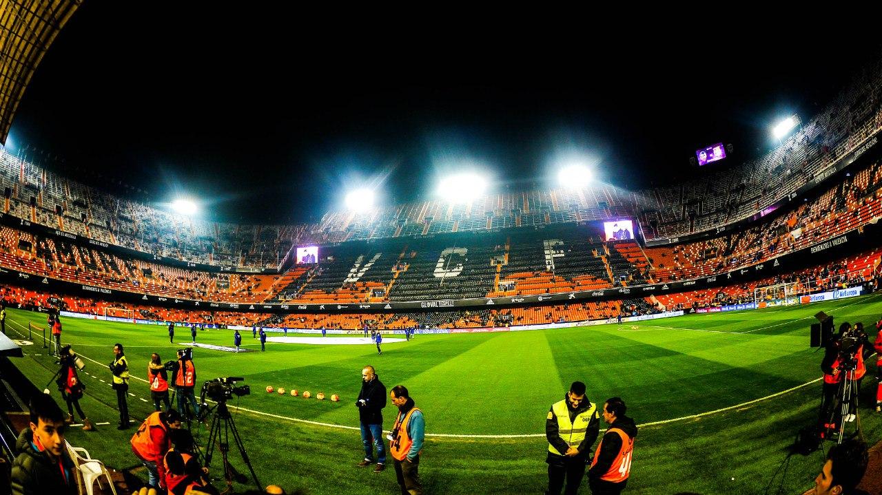 стадион внутри
