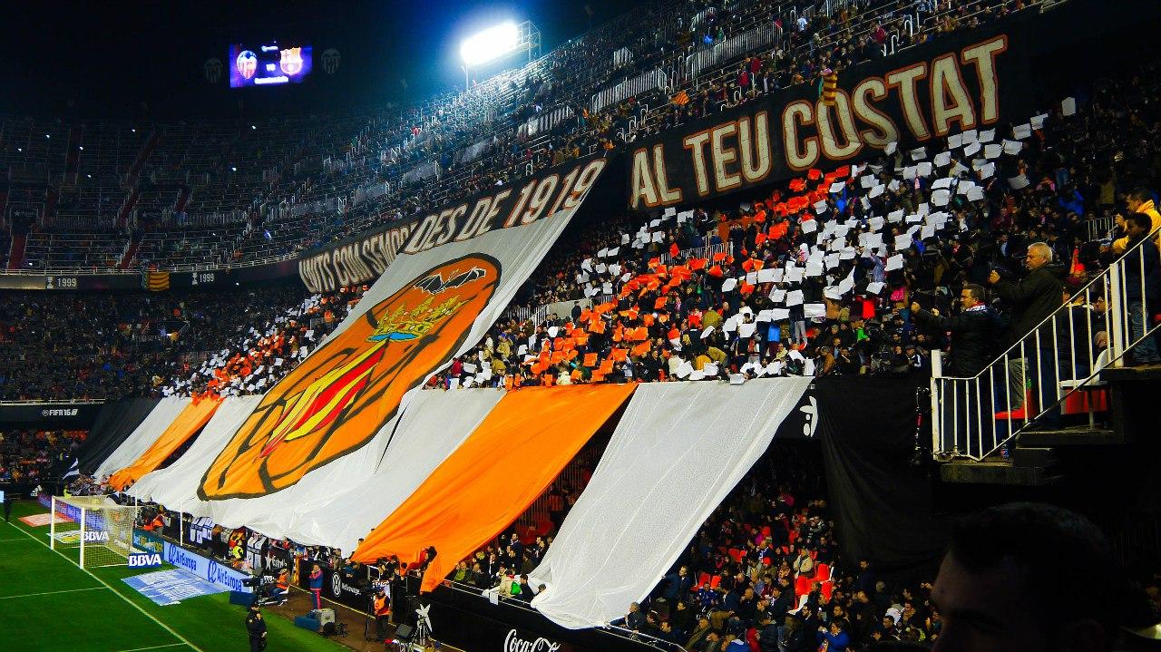 баннер перед матчем