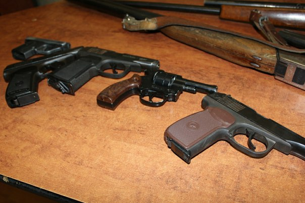 За неделю полицейскими изъято 111 единиц оружия