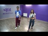 Простая hip hop связка 1- Как научиться танцевать Хип-Хоп  - Урок 1