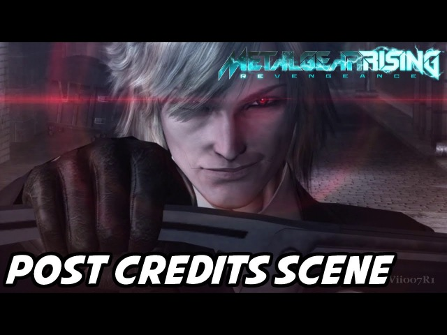 Metal Gear Rising: Revengeance - POST-CREDITS SCENE (Xbox360/PS3/PC)