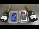 Samsung Galaxy S7 vs. iPhone 6S Champagne Freeze Test 9 Hours! Will It Survive!