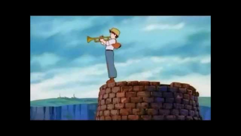 Laputa - A Morning of the Slag Ravine (Pazu's Trumpet Solo) - Audio Only