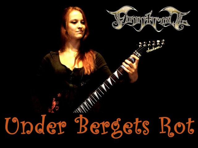 FINNTROLL- Under Bergets Rot guitar cover by Iss [HD]