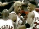 Dennis Rodman 12 pts, 3 asts, 2 threes, 1 ejection - 1997 ECSF Game 5