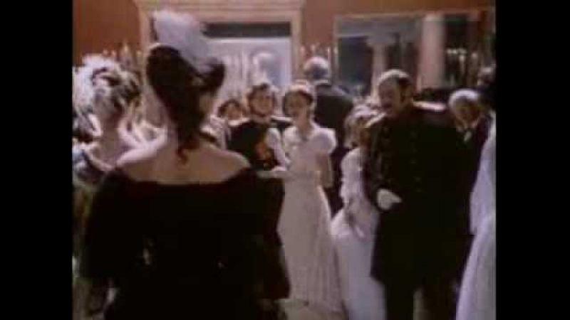 Встреча Базарова и Одинцовой на балу Отцы и дети фильм 1983