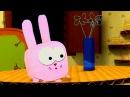 Мультфильм про оригами - Бумажки - «Заяц или кот»