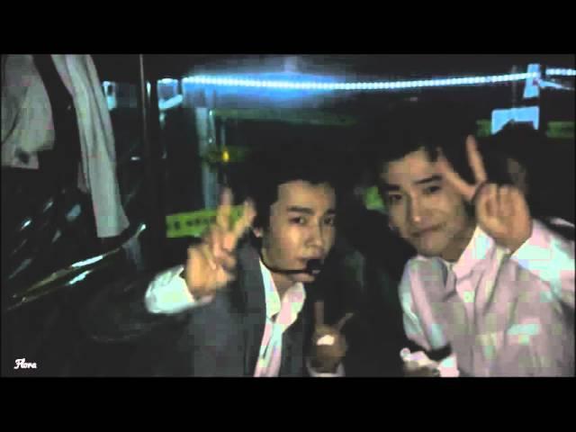 [Backstage] Donghaes reaction when Eunhyuk solo - Super Junior SuperShow6 DVD