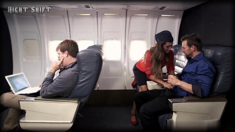 нем, страстный секс стюардессы с пассажиром хотелось кончить