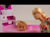 Маша и Медведь Барби видео с куклами Маша готовит сюрприз видео с игрушками
