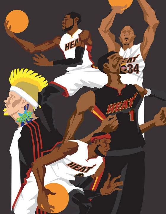 Miami Heat The Champs 2013