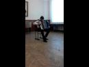 """Виконавець: Габор Мар'ян II НІМ Твори: 1)Дж.Верді """"Танець Мавританських хлопчиків"""". 2) Р.Гальяно """" Вальс Марго"""". 3) Г.Дініку """"Ве"""