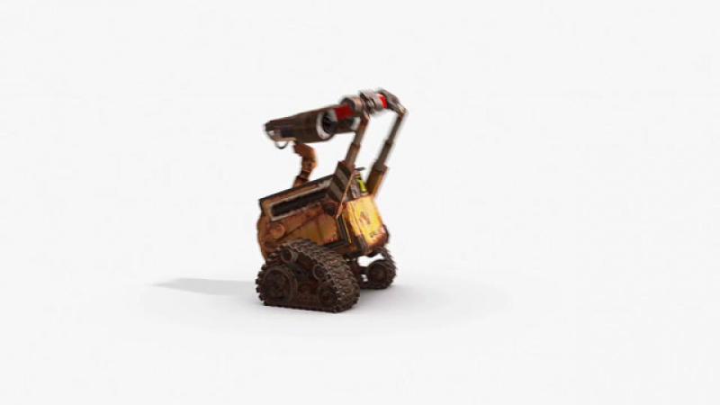 ВАЛЛ·И/WALL·E (2008) Промо-ролик Валл-И и магнит