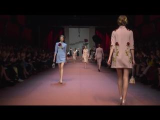 Dolce&Gabbana (Дольче и Габбана) Осень - Зима 2015 - 2016 Показ полной коллекции женской моды - Эксклюзив