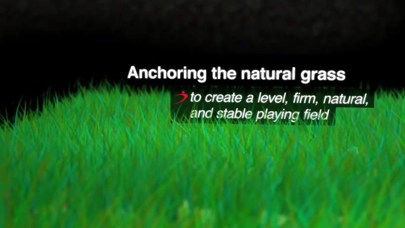 Desso GrassMaster - the hybrid grass solution