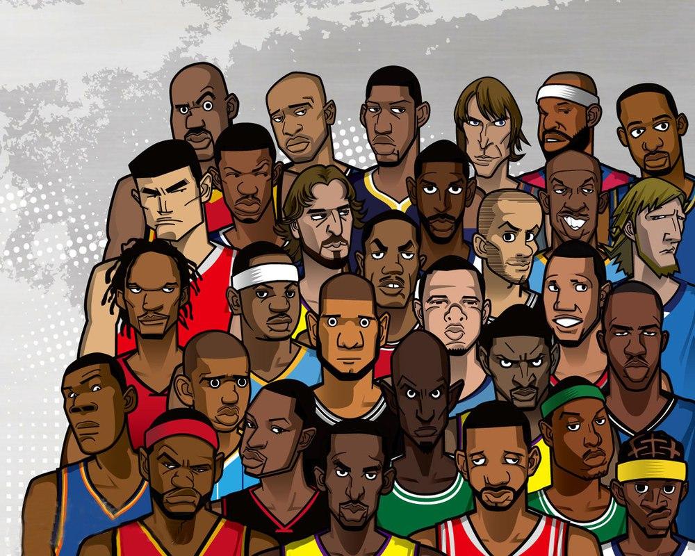 Звезды НБА 200-х