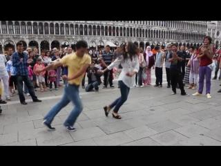 Грузинский танец Рачули в Италии