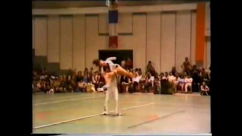 Coppa del Mondo Rock´n´Roll acrobatico 1982 Ezio Mascaretti ed Enza Cavaliere