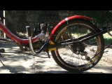 Phyton recumbent bike