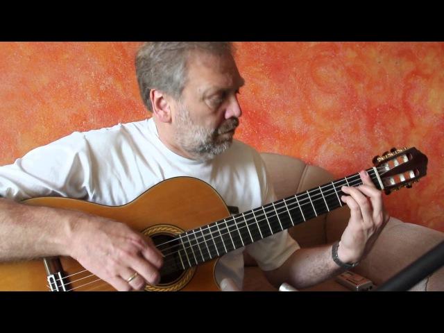 Gerhard Gschossmann - Água de beber (A.C. Jobim) - guitar solo fingerstyle