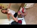 Гибкая девочка гимнастка . Уроки гимнастки. - Видео Dailymotion