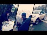 Харьковские патрульные полиции оштрафовали девушку за неправильную парковку