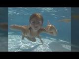 Дочка под водой, дома в бассейне - 2015 (слайд-шоу в Ultra HD 4K ) - Чурбаков Максим