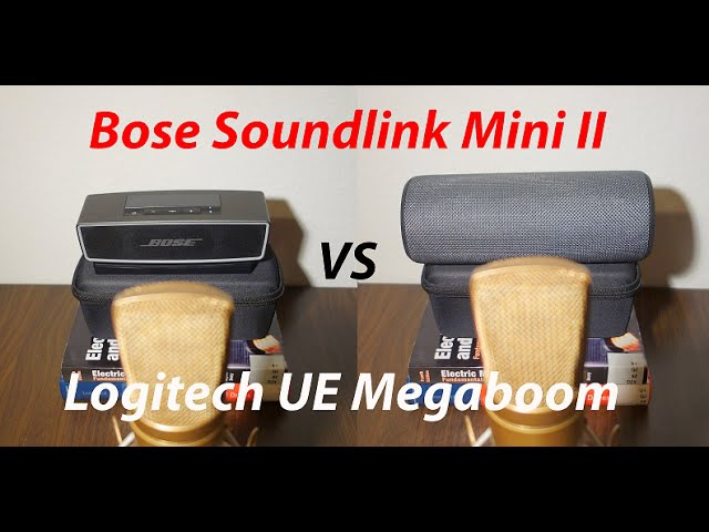 Bose Soundlink Mini 2 Vs Logitech UE Megaboom Sound Test and Review