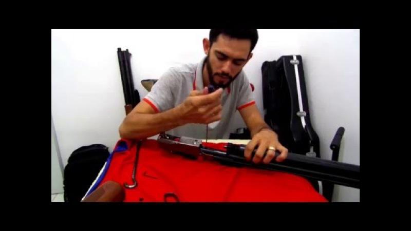 PASSO A PASSO PARA DESMONTAR CARABINA DE PCP SUMATRA .22 500cc