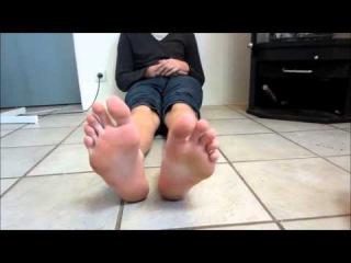 my feet - socks to bare