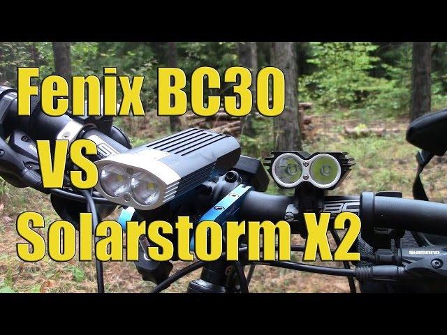 Fenix BC30 VS Solarstorm X2
