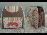 Альбом - рюкзак - Скрапбукинг мастер-класс Aida Handmade