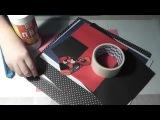Как сделать открытку с Дэдпулом ко дню Святого Валентина(или к другому празднику)