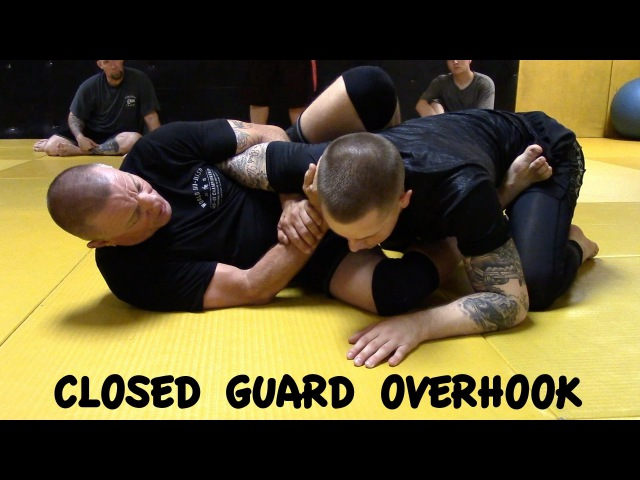 CLOSED GUARD OVERHOOK Armbar 1 2 and Shoulder Lock with Professer Mark Sausser