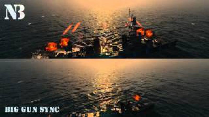 WoWS Big Gun Sync Break Them