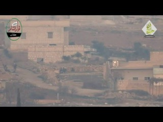 Бородатые бегут от управляемой ракеты! Сирия война 2015 | Hit NEWS
