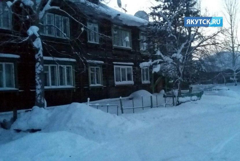 В пятидесятиградусный мороз в Алданском районе ограничено теплоснабжение Алексеевска