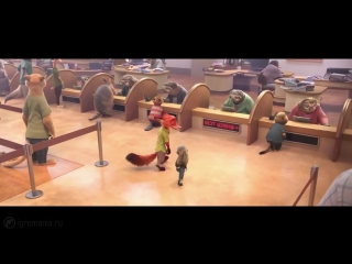 Зверополис - Удивительно смелый мультфильм от Дисней (Обзор)