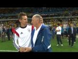 Бразилия 1:7 Германия. 1/2 финала | Чемпионат Мира 2014 (Обзор матча) HD| vk.com/dfb_ru