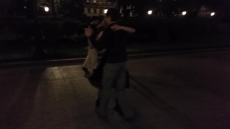Ночное форро в Александровском саду