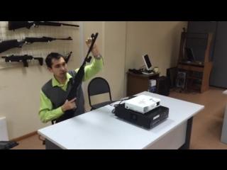 Пневматическая винтовка МР-512С с лазерным стрелковым тренажером для выполнения нормативов ГТО