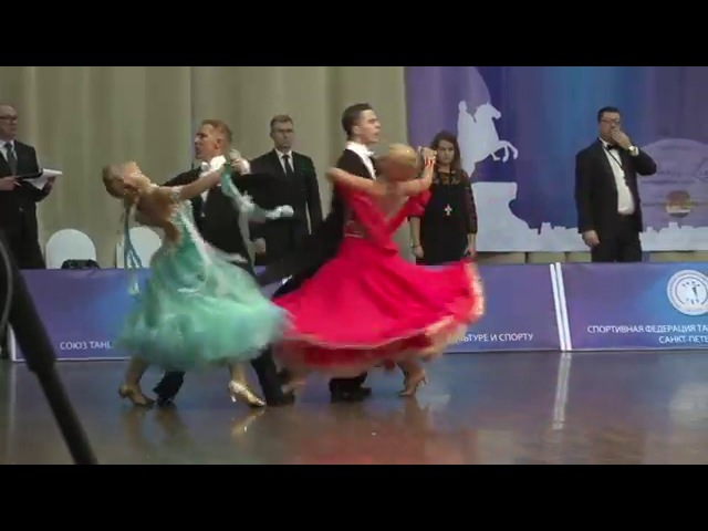 Anton Alexandrov - Eugenia Markvart | Tango | Saint-Petersburg Championship 2016