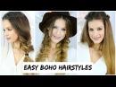 3 Easy Boho Braid Hairstyles Luxy Hair