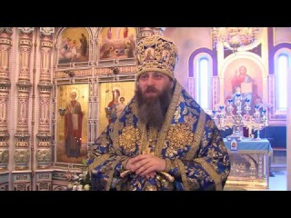 Проповедь митрополита Никодима на Благовещение Пресвятой Богородицы 7 апреля 2016 года