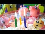 Свинка Пеппа. Мультик из игрушек. Новая серия - День Рождения Педро. Peppa Pig. Birthday Pedro.