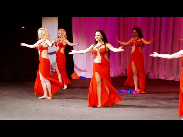 Hessa-group. Школа восточного танца Азалаис. «Межансе»
