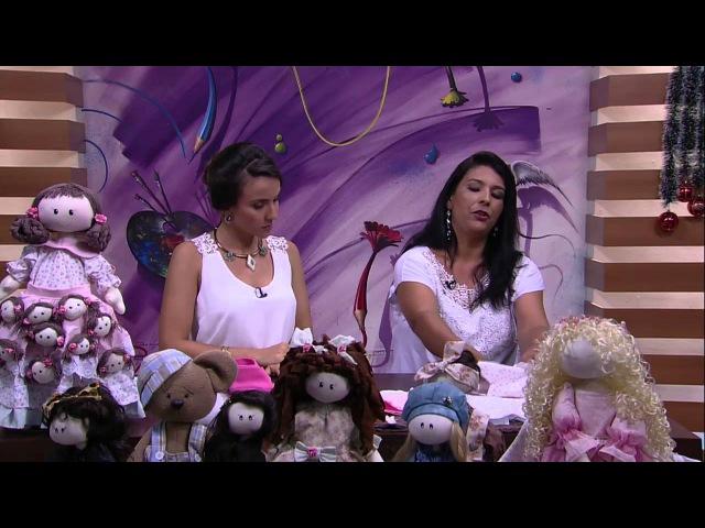 Mulher.com - 31/12/2015 - Boneca de pano - Silvia Torres PT1