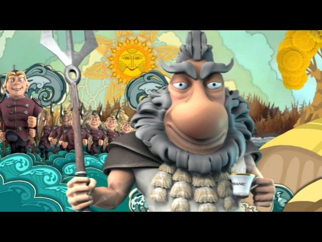 Мультфильм У лукоморья на чувашском языке