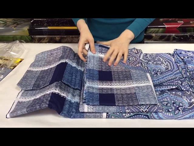 Комплект постельного белья из коллекции Сатин 100% хлопок